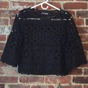 Lace Style Mafia Top Lace shell